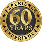 60 yrs experience